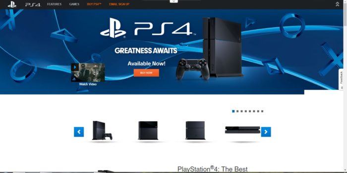 ps4 site