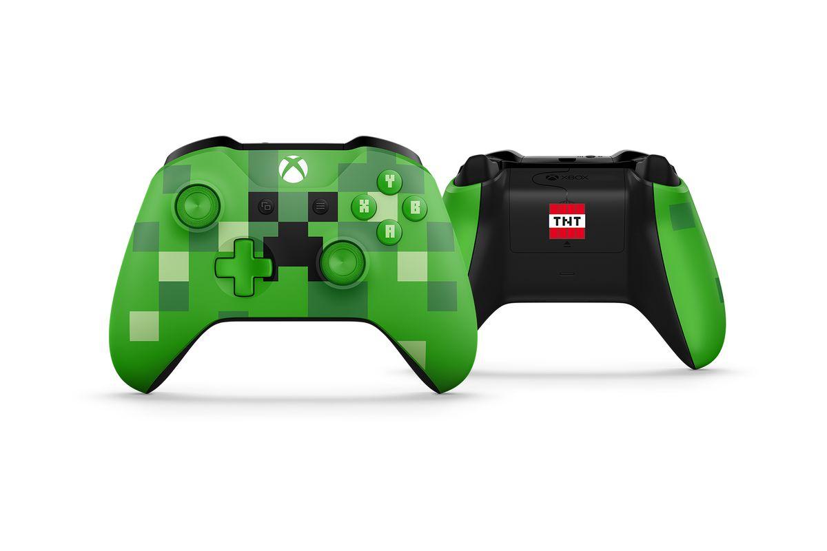Minecraft- xbox one controller