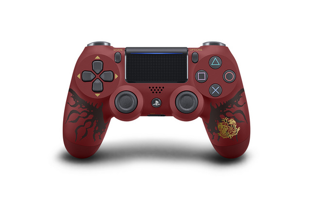 monster hunter world dualshock 4