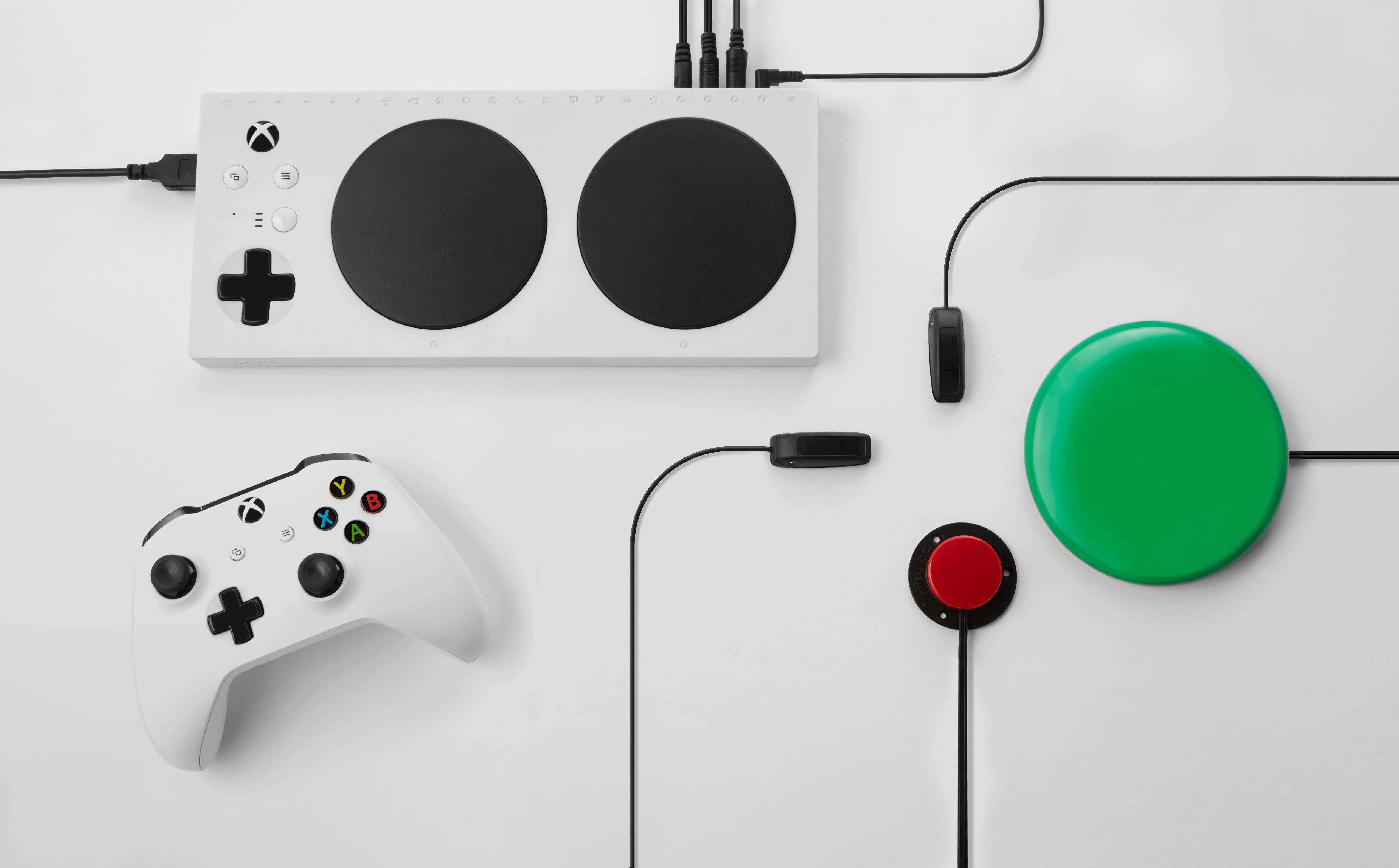 H Microsoft ανακοίνωσε ένα νέο τηλεχειριστήριο Xbox One για άτομα με περιορισμένη κινητικότητα