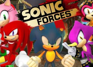 sonic forces review cover