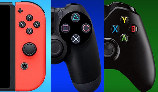 Switch vs PS4 vs Xbox One