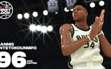 GIANNIS ANTETOKOUNMPO NBA 2K20