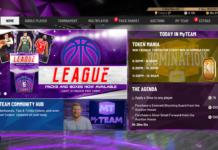 myTeam NBA 2K20