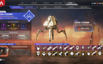 apex legends iron crown event