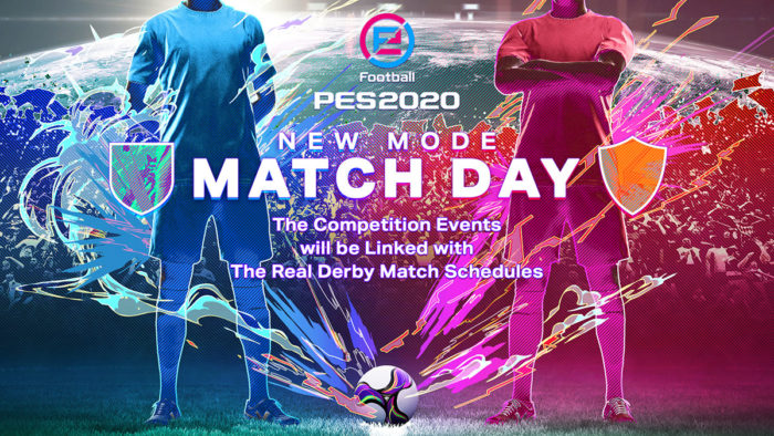 pes 2020 match day
