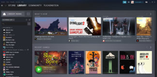 steam library new