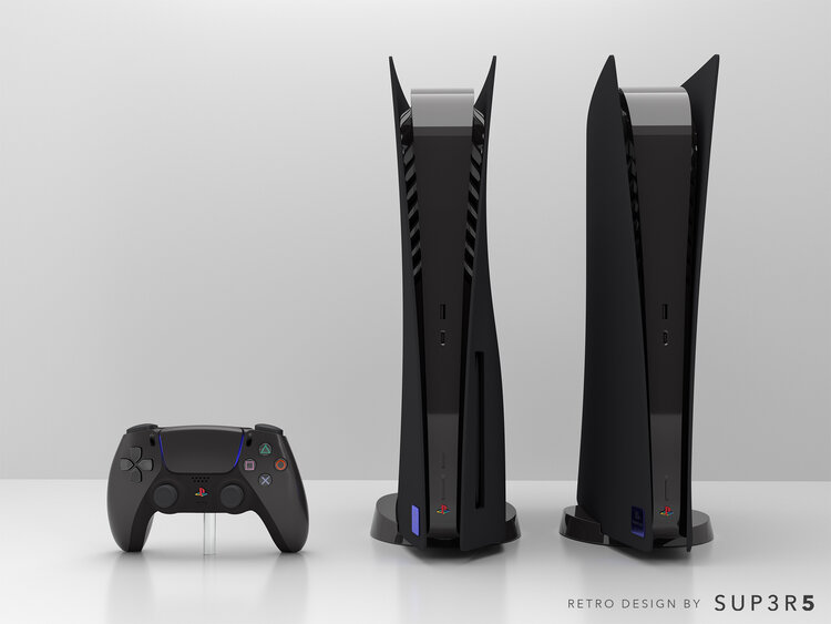 PS5 μαύρο